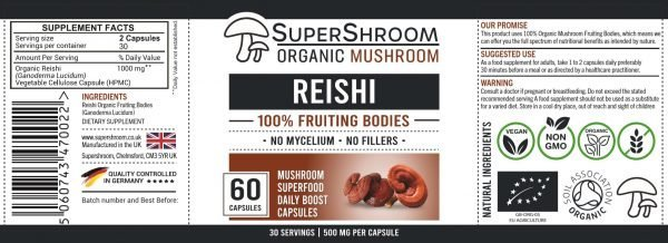 Reishi Label