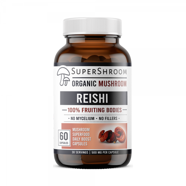 Organic Reishi Mushroom Supplement
